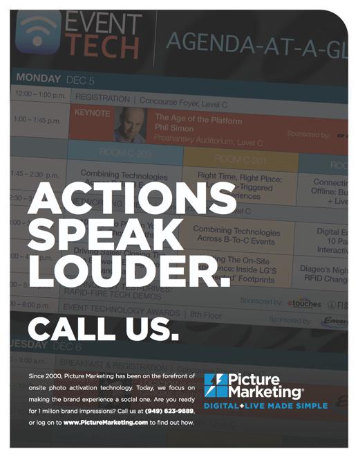 Event Tech Handout - Actions Speak Louder