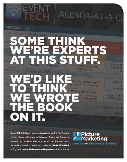 Event Tech Handout - Some Think We're Experts
