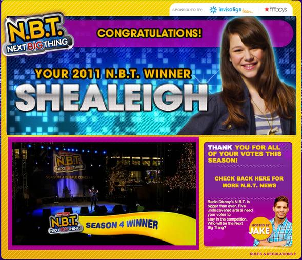 Shealeigh wins!
