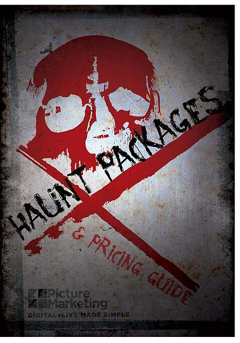 picture marketing haunt booklet cover