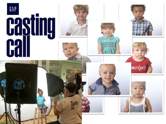 Gap Casting Call Photo Activation