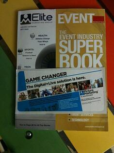 Picture Marketing on Event Marketer Superbook Cover