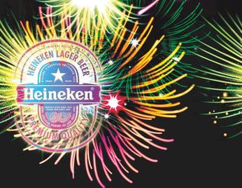 Heineken's Happy New Year with Picture Marketing