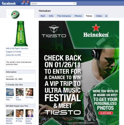 Heineken Facebook Page Like Gate