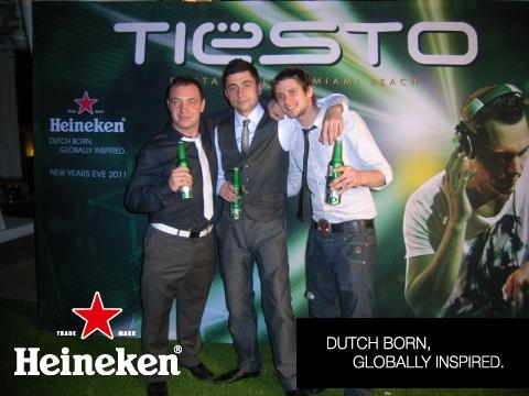 Heineken Tiesto Party