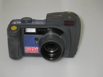 Fotozap Camera with a National Guard Camera Wrap