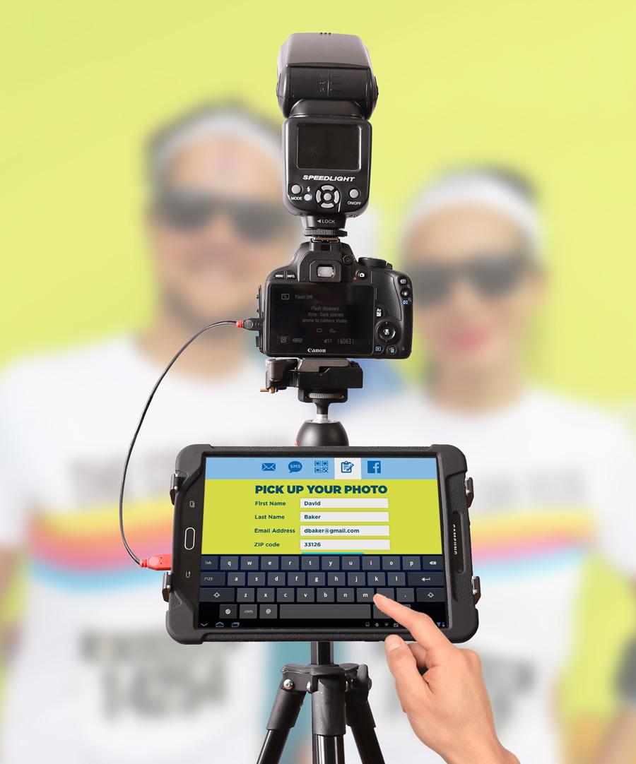 Fotozap DSLR Camera for Event Marketing