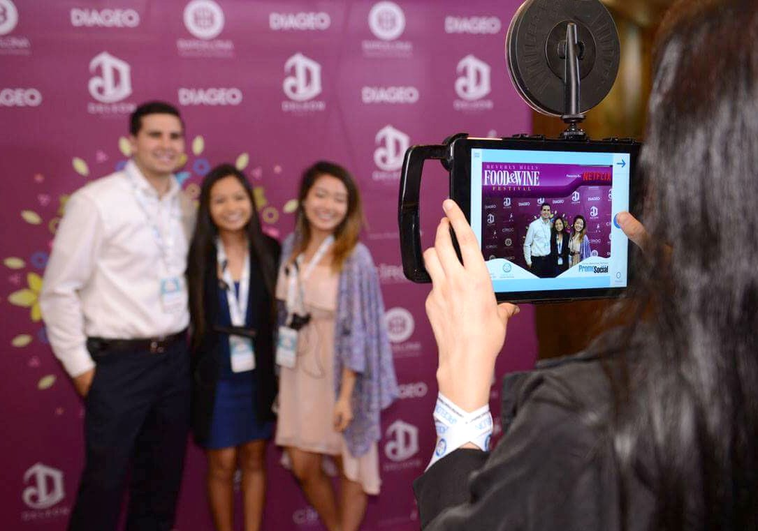 Event Photography with iPad
