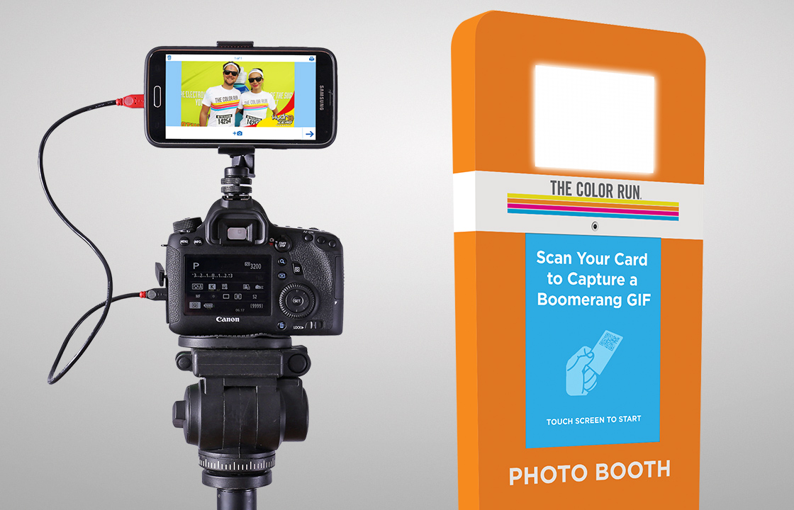 Capture Images with Photo Booths, DSLRs or iPads