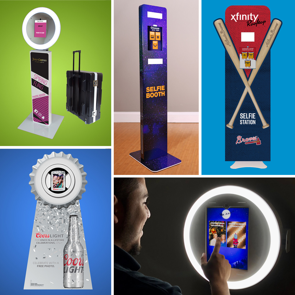 Branded Photo Booths for Experiential Marketing