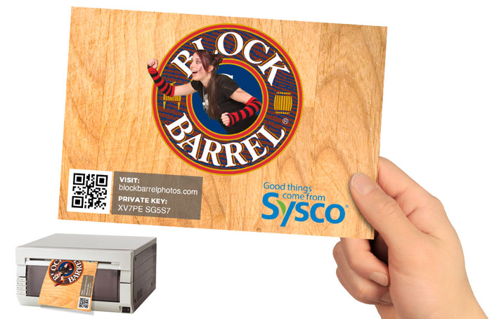 Deliver a Glossy, Branded Print in Seconds