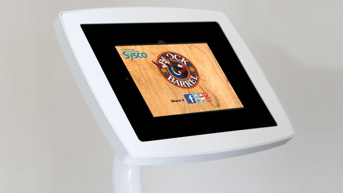 Consumers Post to Facebook with Event Sharing Kiosks